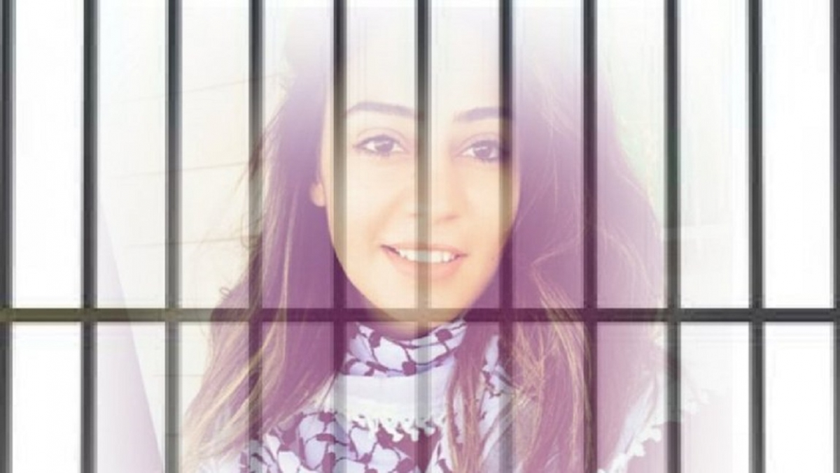 The confirmation of administrative detention against Hiba Labadi